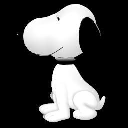 Personalidad con caricatura Snoopy